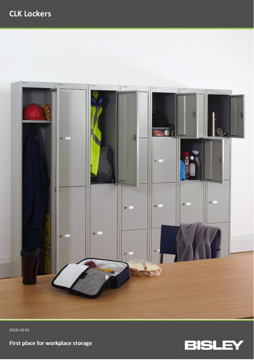 CLK Lockers Brochure