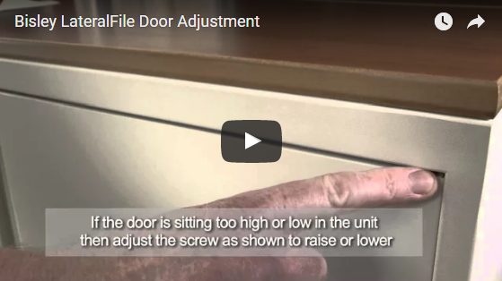 Bisley LateralFile Door Adjustment