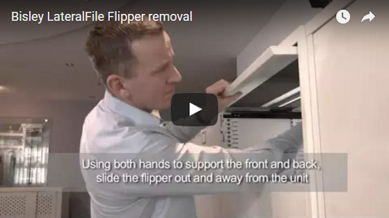 Bisley LateralFile Flipper removal